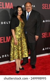 """NEW YORK - DEC 14, 2014: Martin Luther King III attends the premiere of """"Selma"""" at the Ziegfeld Theatre on December 14, 2014 in New York City."""