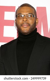 """NEW YORK - DEC 14, 2014: Tyler Perry attends the premiere of """"Selma"""" at the Ziegfeld Theatre on December 14, 2014 in New York City."""
