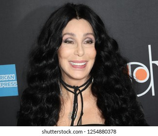 "NEW YORK - DEC 3, 2018: Cher attends the Broadway opening night of ""The Cher Show"" on December 3, 2018, in New York City."