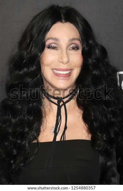 """NEW YORK - DEC 3, 2018: Cher attends the Broadway opening night of """"The Cher Show"""" on December 3, 2018, in New York City."""