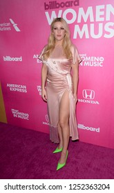 NEW YORK - DEC 6: Ellie Goulding attends Billboard's 13th Annual Women in Music event on December 6, 2018 at Pier 36 in New York City.