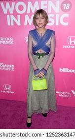 NEW YORK - DEC 6: Grace VanderWaal attends Billboard's 13th Annual Women in Music event on December 6, 2018 at Pier 36 in New York City.
