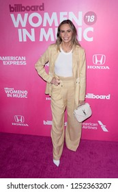 NEW YORK - DEC 6: Keltie Knight attends Billboard's 13th Annual Women in Music event on December 6, 2018 at Pier 36 in New York City.