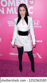 NEW YORK - DEC 6: Lauren Jauregui attends Billboard's 13th Annual Women in Music event on December 6, 2018 at Pier 36 in New York City.