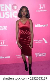 NEW YORK - DEC 6: Ndey Buri attends Billboard's 13th Annual Women in Music event on December 6, 2018 at Pier 36 in New York City.