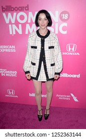 NEW YORK - DEC 6: St. Vincent attends Billboard's 13th Annual Women in Music event on December 6, 2018 at Pier 36 in New York City.