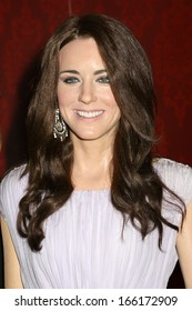 NEW YORK - Dec 6: A wax figure of Kate Middleton is seen on display at Madame Tussauds on December 6, 2013 in New York City.