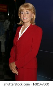 NEW YORK - Dec 6: A wax figure of Barbara Walters is seen on display at Madame Tussauds on December 6, 2013 in New York City.