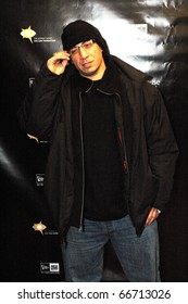 NEW YORK - DECEMBER 1 - DJ Kid Capri arrives at the New Era launch party for Johnny Nunez Limited Edition 59FIFTY CAP at the New Era Flagship store in New York on December 1, 2010.
