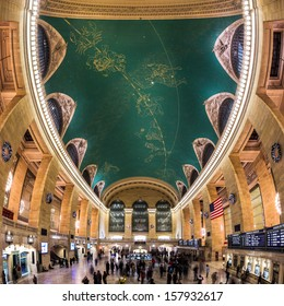 NEW YORK - DECEMBER 25: Grand Central Terminal interior on December 25, 2012 in New York.