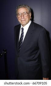 NEW YORK - DECEMBER 6: Singer Tony Bennett attends the Face of Tisch gala at the Frederick P. Rose Hall at Lincoln Center on December 6, 2010 in New York City.