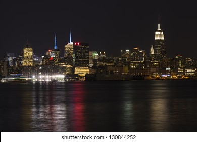 New York, Empire State Building, Time Square and Chrysler Building