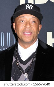 """NEW YORK - FEB 12: Russell Simmons attends the premiere of """"Beyonce: Life Is But A Dream"""" at the Ziegfeld Theatre on February 12, 2013 in New York City."""
