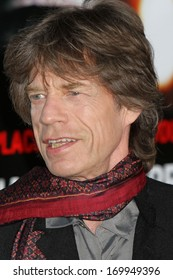 """NEW YORK - FEB 17: Mick Jagger of The Rolling Stones attends the premiere of """"Shutter Island"""" at the Ziegfeld Theater on February 17, 2010 in New York City."""