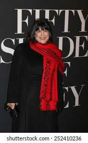 """NEW YORK - FEB 5, 2015: Author E.L. James attends a screening of """"Fifty Shades of Grey"""" at the Ziegfeld Theatre on February 5, 2015 in New York."""