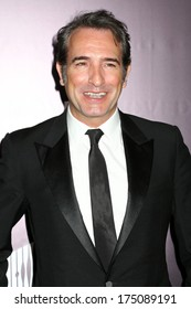 """NEW YORK - February 4, 2014: Jean Dujardin attends the premiere of """"The Monuments Men"""" at the Ziegfeld Theater on February 4, 2014 in New York City."""