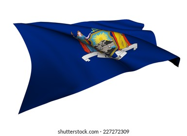 New York flag - USA state flags collection no_4