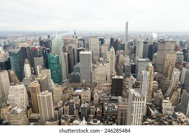 New York, high view