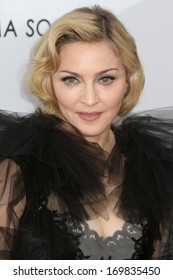 "NEW YORK - JAN 23: Madonna attends the premiere of ""W.E."" at the Ziegfeld Theater on January 23, 2012 in New York City."