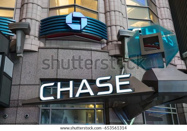 New York Jan 28 Chase Bank Stock Photo (Edit Now) 653561314