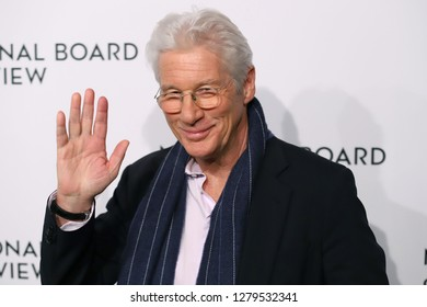 NEW YORK - JAN 8, 2019:  Richard Gere attends the National Board of Review Awards at Cipriani on January 8, 2019, in New York.