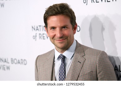 NEW YORK - JAN 8, 2019:  Bradley Cooper attends the National Board of Review Awards at Cipriani on January 8, 2019, in New York.
