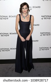 NEW YORK - JAN 9, 2018: Allison Williams attends the National Board of Review Awards at Cipriani on January 9, 2018, in New York