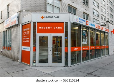 New York, January 21, 2017: Northwell Health urgent care office on Amsterdam Avenue is open to walk-in customers.