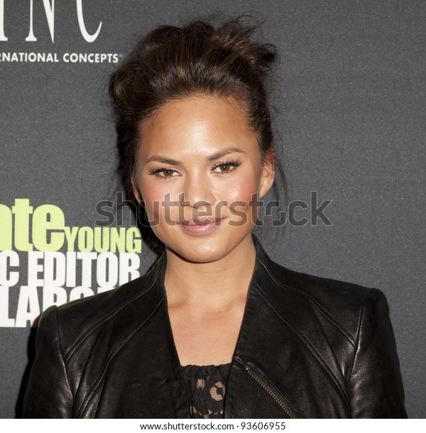 NEW YORK - JANUARY 25: Chrissy Teigen attends INC EDITOR AT LARGE With Kate Young At The Standard Hotel on January 25, 2012 in New York City