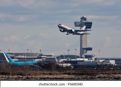 NEW YORK DECEMBER 6 Boeing 747 Stock Photo (Edit Now