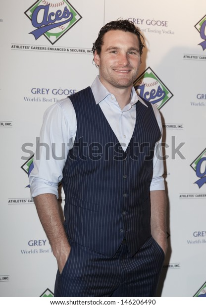 NEW YORK - JULY 14: New York Mets Daniel Murphy attends the Aces, Inc. All Star party at Marquee on July 14, 2013 in New York City.