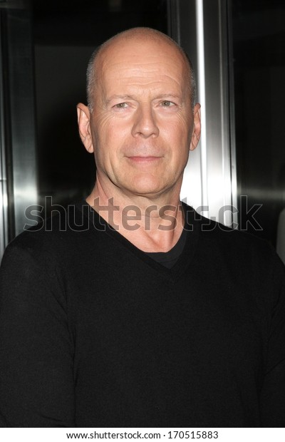 "NEW YORK - JULY 16: Bruce Willis attends a screening of ""Red 2"" at the Museum of Modern Art on July 16, 2013 in New York City."