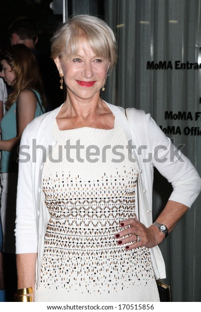 """NEW YORK - JULY 16: Helen Mirren attends a screening of """"Red 2"""" at the Museum of Modern Art on July 16, 2013 in New York City."""