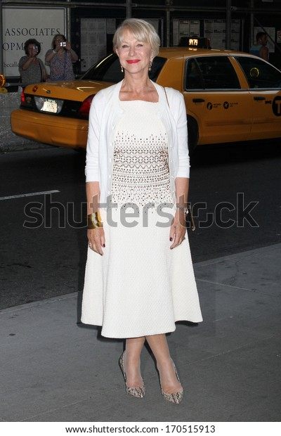 "NEW YORK - JULY 16: Helen Mirren attends a screening of ""Red 2"" at the Museum of Modern Art on July 16, 2013 in New York City."