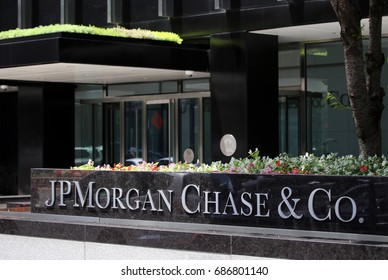 NEW YORK - JULY 16: The JPMorgan Chase & Co. headquarters on Park Avenue in New York, NY on July 16, 2017. JPMorgan Chase is an American multinational banking and financial services holding company.