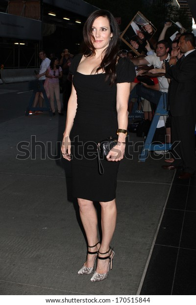 """NEW YORK - JULY 16: Mary-Louise Parker attends a screening of """"Red 2"""" at the Museum of Modern Art on July 16, 2013 in New York City."""
