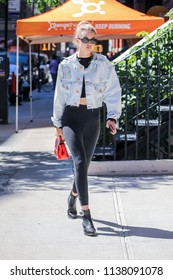 NEW YORK - JULY 19: Gigi Hadid is seen on July 19, 2018 in New York City.