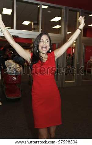 3986ca7649 NEW YORK - JULY 20  TV personality Bethenny Frankel arrives for a preview  shopping event