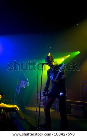 Sex slaves rock band