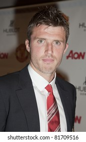 NEW YORK - JULY 25: Footballer Michael Carrick attends Hublot 'Art of Fusion' fashion show with Sir Alex Ferguson & Manchester United at Cipriani, Wall Street on July 25, 2011 in New York City