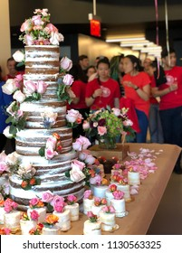NEW YORK, July 9, 2018 -- Shutterstock, Inc. (NYSE: SSTK) celebrates its 15 year anniversary with a giant cake surrounded by employees in the NYC headquarters in the Empire State Building.