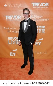 NEW YORK - JUN 17: Digital creator Tyler Oakley attends the 2019 TrevorLIVE New York Gala at Cipriani Wall Street on June 17, 2019 in New York City.