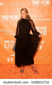 NEW YORK - JUN 17: Kelly Ripa attends the 2019 TrevorLIVE New York Gala at Cipriani Wall Street on June 17, 2019 in New York City.