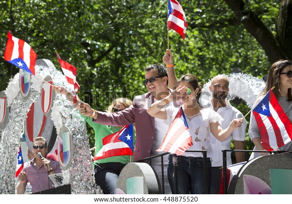 New York June 12 2016 Participants Stock Photo (Edit Now