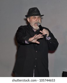 NEW YORK - JUNE 18: Giovanni Vitacolonna performs at The Imperial Court of New York event to benefit Metropolitan Church in Industry Bar on June 18 2012 in New York