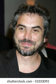NEW YORK - JUNE 28 : Producer Alfonso Cuaron arrives at New York premier of Palm Pictures' CRONICAS at the Angelika Film Center on Tuesday, June 28, 2005 in New York.