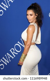NEW YORK - JUNE 4, 2018: Kim Kardashian attends the CFDA Awards at the Brooklyn Museum on June 4, 2018, in New York.