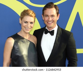 NEW YORK - JUNE 4, 2018: Claire Danes and Hugh Dancy attend the CFDA Awards at the Brooklyn Museum on June 4, 2018, in New York.