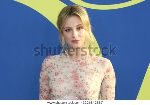 NEW YORK - JUNE 4, 2018: Lili Reinhart attends the CFDA Awards at the Brooklyn Museum on June 4, 2018, in New York.