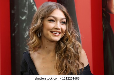 """NEW YORK - JUNE 5, 2018: Gigi Hadid attends the premiere """"Ocean's 8"""" at Alice Tully Hall on June 5, 2018, in New York City."""
